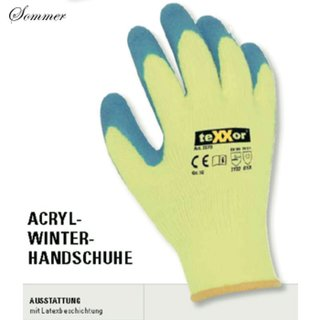 Acryl-Winterhandschuh-Latex